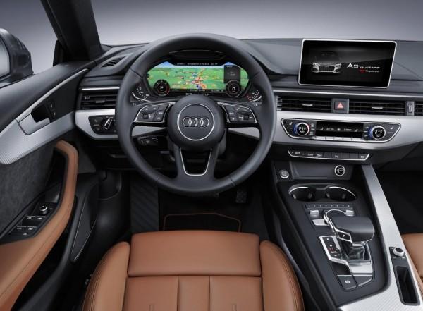 салон Audi S5 Sportback