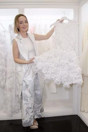 Актриса и fashion-блогер Поля Полякова