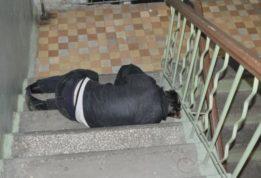 поджег бездомного