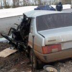 В ДТП в Льгове с участием пяти машин пострадали два человека