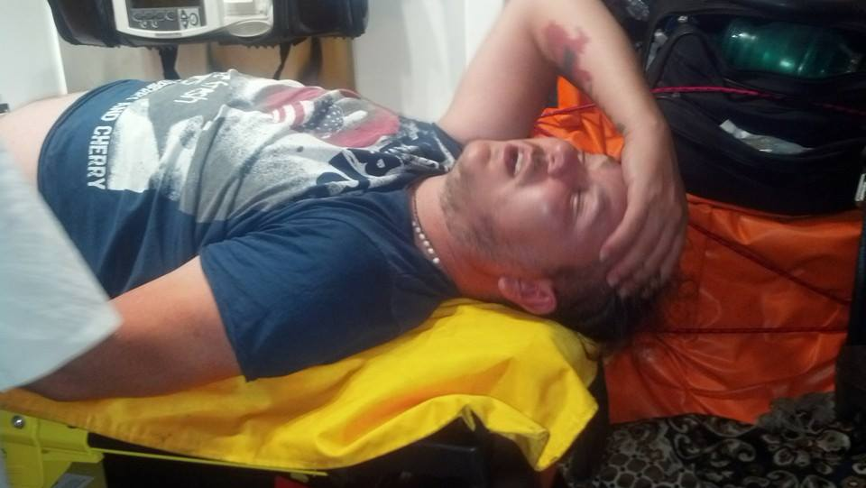 избили волонтера АТО