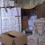 Под Киевом накрыли подпольный цех фальшивого алкоголя
