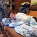 Во Львове пьяная мать бросала ребенка в полицейских