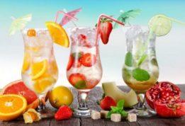5 летних коктейлей