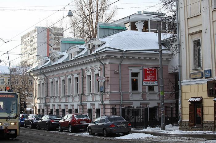 Банк на Красных Воротах