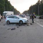 В Киеве произошло серьезное ДТП