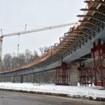 Реконструкцию первого участка Калужского шоссе завершат летом