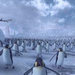 Эпическое сражение армии из 4 тысяч Санта-Клаусов с армией из 11 тысяч пингвинов