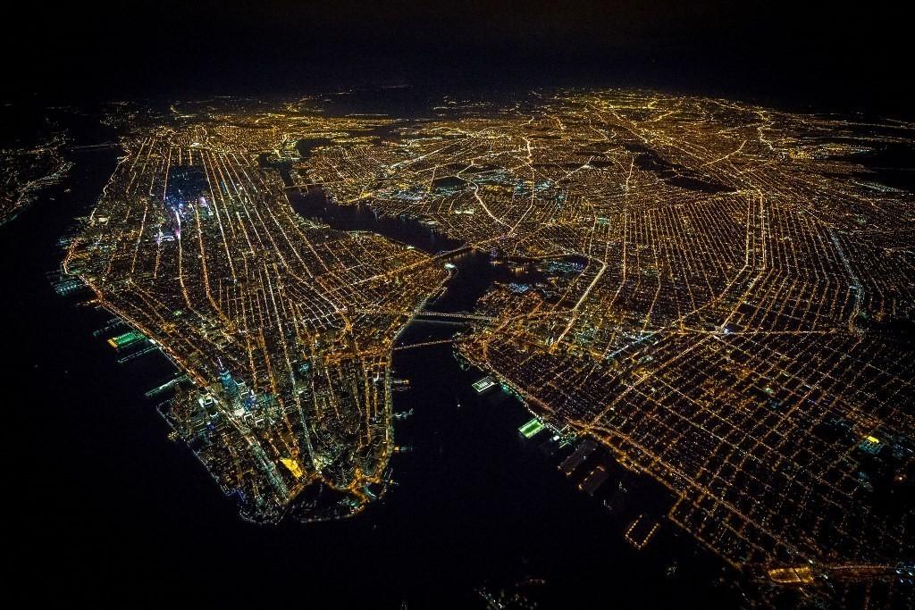 Ночной Нью-Йорк