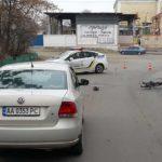 Жесткая авария в Киеве: есть пострадавшие