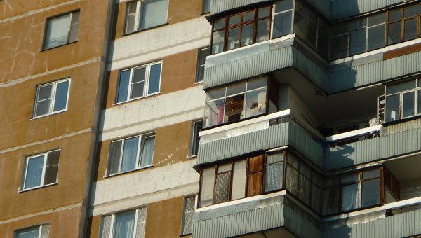 задержали мужчину, стрелявшего с балкона