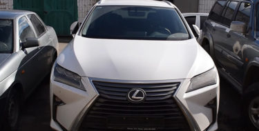 Дерзкий угон Lexus