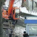 Скандальная стройка в Киеве: мужчине проломили голову
