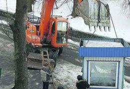 Скандальная стройка в Киеве