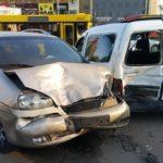 Жесткая авария в Киеве: движение парализовала огромная пробка