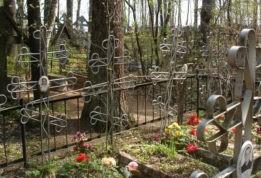 возле кладбища нашли голого черного ребенка
