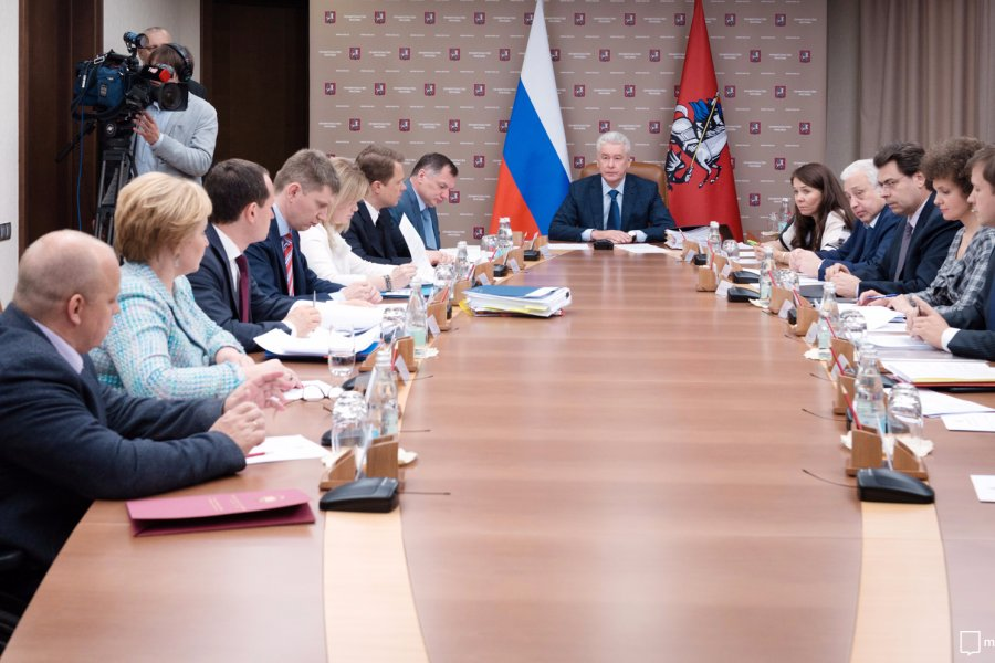 Сергей Собянин уволил главу управы Гагаринского района