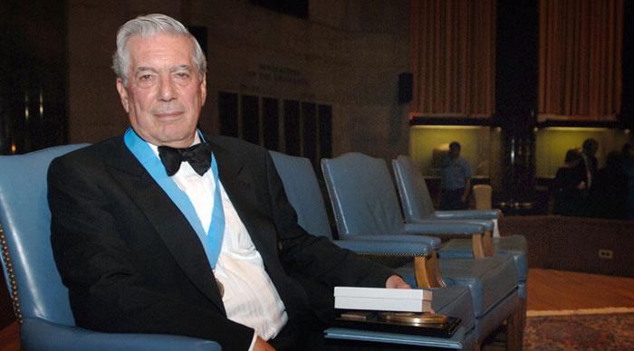 Перуанский писатель Марио Варгас Льоса