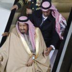 У короля Саудовской Аравии в Москве сломался трап-эскалатор