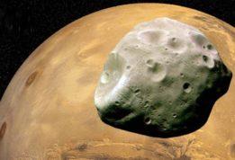 одна из загадок Марса