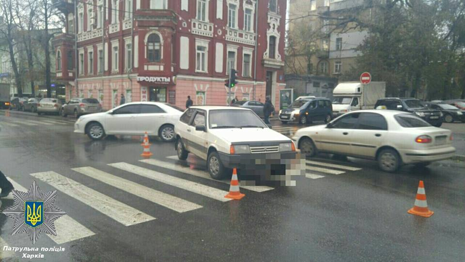 ВАЗ сбил пешехода