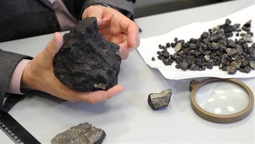 органические соединения в древнем метеорите