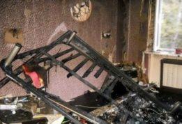 В жилом доме взорвался газ
