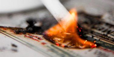 мужчина заживо сгорел