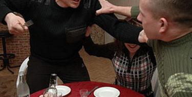 В Киеве семейная ссора