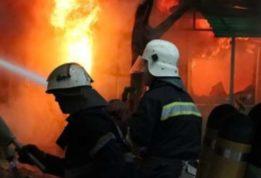 во время тушения пожара обнаружили тело мужчины