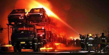 сгорел автовоз