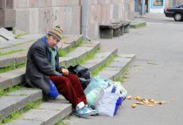 Россия живет в большой нищете