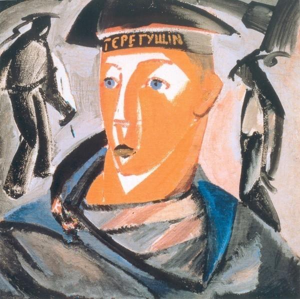Владимир Татлин. Матрос. 1911. Х., м. 71,5 х 71,5