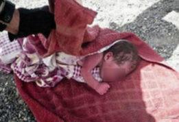 перерезала горло новорожденному