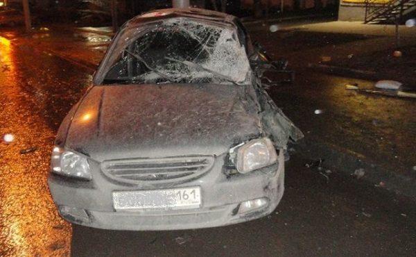 авария с участием двух автомобилей