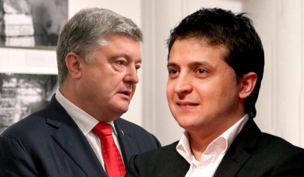 штаб Зеленского вызвал Порошенко на дебаты