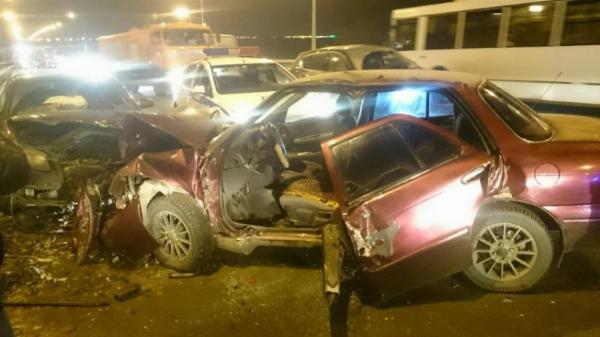 авария с участием двух машин