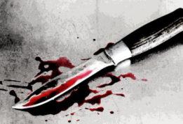вооруженный ножом злоумышленник напал на 20-летнего парня